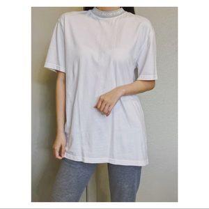 Acne Studios Logo Neck T-shirt Size L